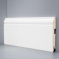 Плинтус Deartio Белый МДФ коллекция Белый и цветной U 104-120