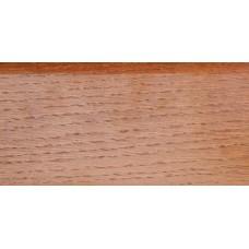 Плинтус деревянный DL Profiles 010 Дуб Карамель 75мм 2.4м