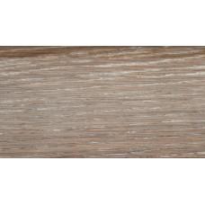 Плинтус деревянный DL Profiles Р12 Дуб Серебро 75мм 2.4м