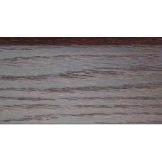 Плинтус деревянный DL Profiles С9 Дуб Кофе 75 мм 2.4м
