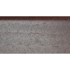 Плинтус деревянный DL Profiles 008 Венге Натур Светлый 60мм 2.4м