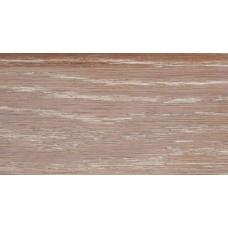 Плинтус деревянный DL Profiles 016 Ясень Барокко 75мм 2.4м