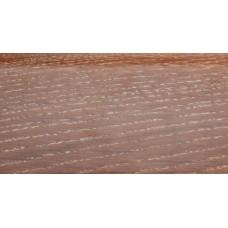 Плинтус деревянный DL Profiles G2B Ясень Термо Светлый 75мм 2.4м