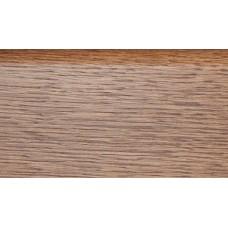Плинтус деревянный DL Profiles G1 Ясень Термо Темный 75мм 2.4м