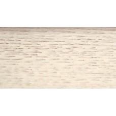 Плинтус деревянный DL Profiles 031 Ясень Белый 75мм 2.4м