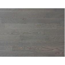 Паркетная доска Esta Parket коллекция Трехполосная Дуб Таун темно-серый брашированный - 130811