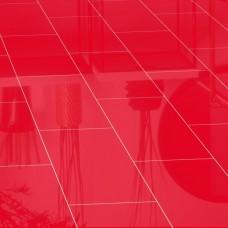Ламинат Falquon Красный глянец с фаской коллекция Blue Line Uni U148