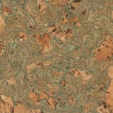 Пробковая настенная плитка Granorte Decodalle Twist Green 05 900 92