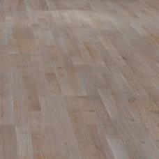 Паркетная доска Haro Дуб лава коричневый коллекция 3-полосная 4000 Series Top connect 670143