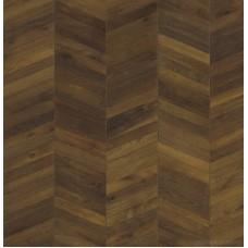 Паркетная доска Kahrs ID Темно-коричневый коллекция Шеврон (Chevron Collection) 151XADEKWFKW180