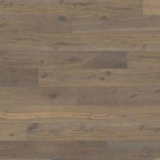 Паркетная доска Karelia Oak story 187 charcoal grey 5g коллекция Импрессио 2423 x 187 мм