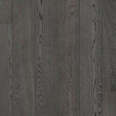 Паркетная доска Karelia коллекция Urban soul Дуб story smoked asphalt grey 138 мм