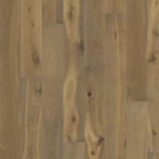 Паркетная доска Karelia Oak Smoked Sandstone Импрессио 3-х