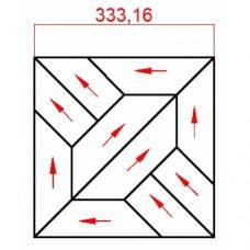 Модульный паркет Lab Arte Дуб массив №8-70 Рустик