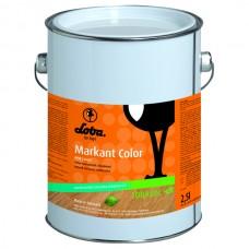 Масло с твердым воском Lobasol Markant Color 2,5 л