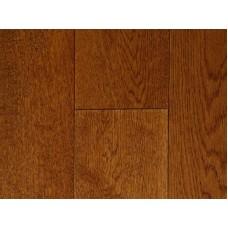 Массивная доска Magestik Floor Дуб коньяк брашированный (300-1500) х 125 х 18 мм коллекция Classic