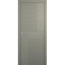 Межкомнатная дверь Мебель-Массив Некст 4 Эмаль RAL 7044 на дубе полотно глухое