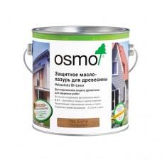 Защитное масло-лазурь OSMO 700 для древесины HolzSchutz Ol-Lasur для фасадов 0,75 л