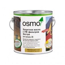 Защитное масло с УФ-фильтром OSMO 410 UV-Schutz-?l для внутренних работ без биоцидов Бесцветное 0,75л