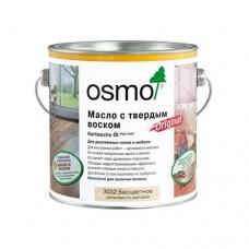 Масло OSMO Hartwachs-Ol 3011 с твердым воском Original Бесцветное глянцевое 0,75 л