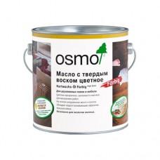 Масло OSMO 3040 с твердым воском ЦВЕТНОE Hartwachs-Ol Farbig 0,75 л