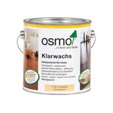 Масло OSMO 1101 с воском для твердых пород Klarwachs Бесцветное шелковисто-матовое 0,75 л