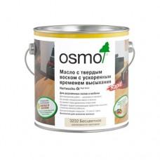 Масло OSMO Polix Hartwachs-Ol Rapid 3232 с твердым воском Rapid с ускоренным временем высыхания Бесцветное шелковисто-матовое 0,75 л