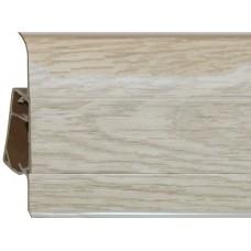 Плинтус из ПВХ Royal Дуб норд 272 - 2500 x 76 x 23 мм