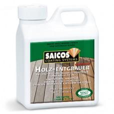 Концентрат для удаления серого налета SAICOS Holz-Entgrauer Konzentrat (Германия) 8130 1 л