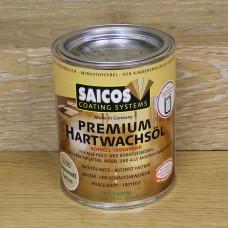 Масло с твердым воском с ускоренным временем высыхания Saicos Hartwachsol Premium (Германия) 3200 шелковисто-матовое 125мл