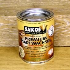 Масло с твердым воском с ускоренным временем высыхания Saicos Hartwachsol Premium (Германия) 3305 матовое 125мл