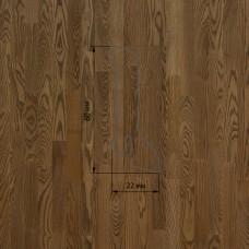 Плинтус Polarwood Ash Brown (Ясень Коричневый) шпон 22 x 60 мм