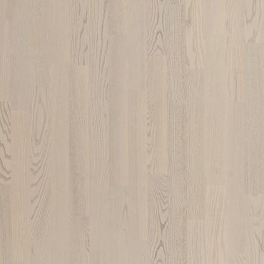 Паркетная доска Polarwood Ясень Рикотта коллекция Classic 3-полосная