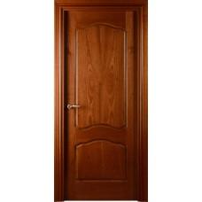 Межкомнатная дверь Свобода 782 Шпон красного дерева светлый 00.04 полотно глухое коллекция Valdo