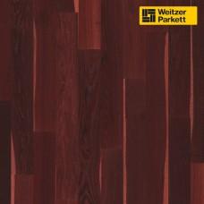 Паркетная доска Weitzer Parkett Eiche Kerngerauchert Cranberry Дуб мореный клюква spektrum 27682 ProActive+ Langriemen-Optik WP 4100