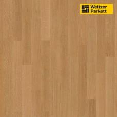 Паркетная доска Weitzer Parkett Eiche Дуб exquisit 15834 ProActive+ Stab-Optik WP 450